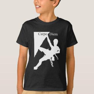 T-shirt Escalade de Carpe Diem (chemises foncées)