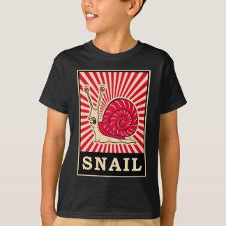 T-shirt Escargot d'art de bruit