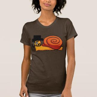 T-shirt Escargot mauvais
