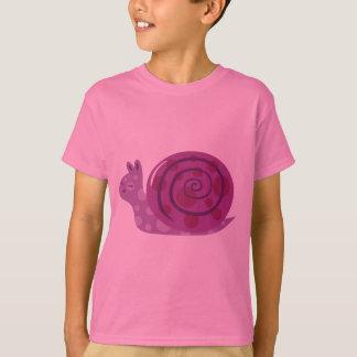 T-shirt Escargot repéré par pourpre