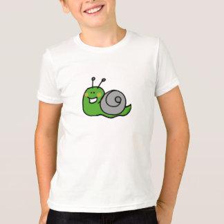 T-shirt escargot vert