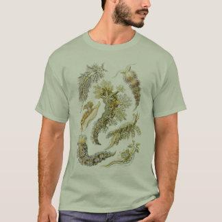 T-shirt Escargots vintages et lingots de mer, animaux