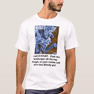 T-shirt Escherichia coli, Escherichia coli 0157 : H7-