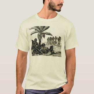 T-shirt Esclaves sur le rivage