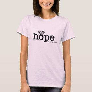 T-shirt Espérez que c'est l'année - fiançailles