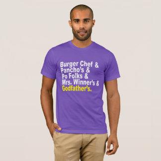 T-shirt Esperluète : Se rappeler des restaurants de Baton