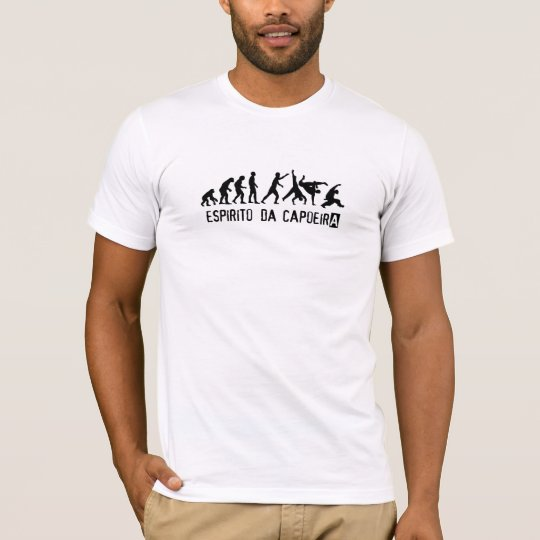 T-shirt espirito da capoeira
