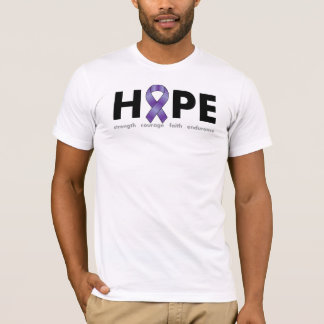 T-shirt ESPOIR (conscience d'épilepsie)