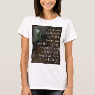 T-shirt Espoir de 29:11 de Jérémie à l'avenir