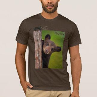 T-shirt Espoir par Nancy Liu - douille courte
