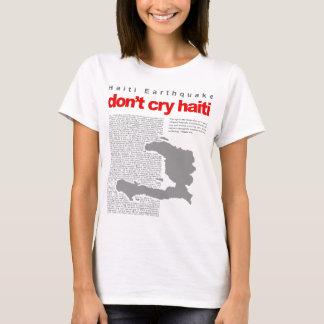 T-shirt espoir pour le Haïti maintenant