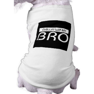 T-shirt Esprit de Chillin mon réservoir d'animal familier
