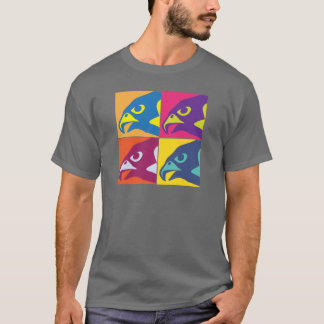 T-shirt Esprit de faucon d'art de bruit