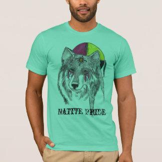 T-shirt Esprit de loup et chemise indigène de qolf de