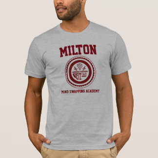 T-shirt Esprit de Milton permutant la chemise d'académie