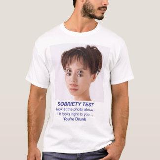 T-shirt essai de sobriété