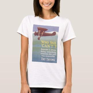T-shirt essai d'essai