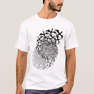 T-shirt Essaims du ptérodactyle deux de Fractyl