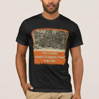 T-shirt Est c'à ce que le commerce triangulaire atlantique