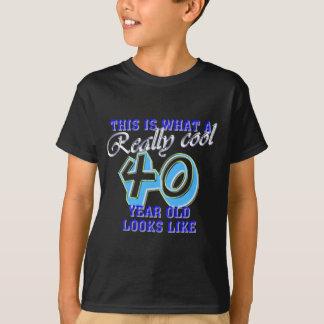 T-shirt Est ce ce que vraiment un cool des regards 40 an