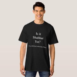 T-shirt Est-ce Shabbat ? Dans le noir