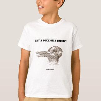 T-shirt Est-ce un canard ou un lapin ? (Illusion optique)