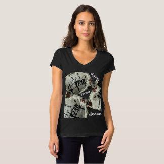 T-shirt Est descendu l'usage actif de Parfwa Deece