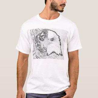 T-shirt Est et occidental