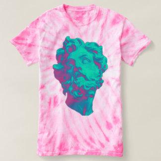 T-shirt esthétique de femmes de statue de problème