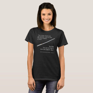 """T-shirt """"Estropié ou morts ?"""" La chemise de la femme"""