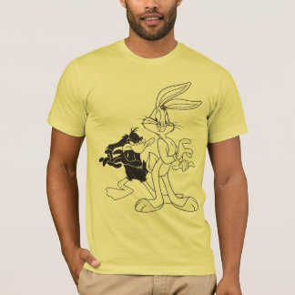 T-shirt ™ et DAFFY DUCK™ de BUGS BUNNY