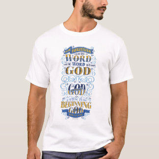 T-shirt Était au début le mot
