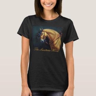 T-shirt Étalon de peau de daim