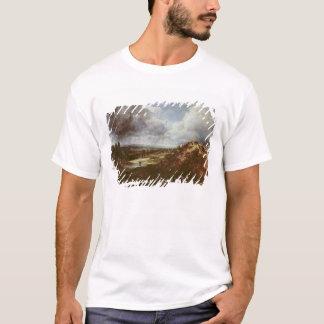 T-shirt Étang de colline de branche, bruyère de Hampstead,