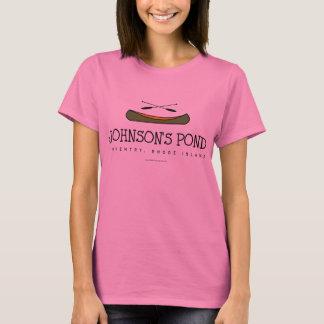 T-shirt Étang de Johnson (canoë vert)