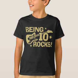 T-shirt Étant 10 roches
