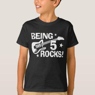 T-shirt Étant 5 roches