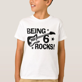 T-shirt Étant 6 roches