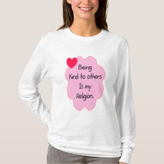 T-shirt Étant aimable avec d'autres