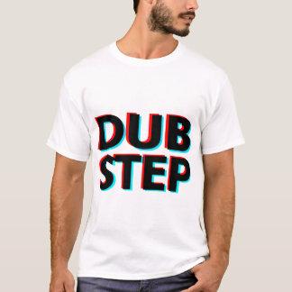 T-shirt Étape de copie des textes de Dubstep 3D