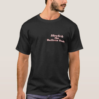 T-shirt Étendue de chemise d'artiste de ballon de