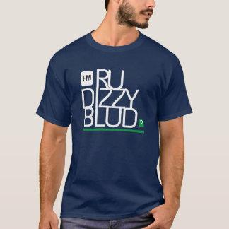 T-shirt êtes vous dizzy le vert de blud pour l'obscurité