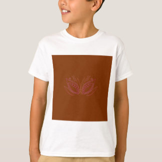T-shirt Ethno brun de mandalas de conception
