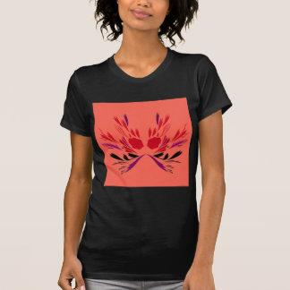 T-shirt Ethno rouge de tatouage de henné
