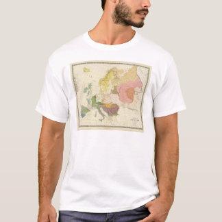 T-shirt Ethnographique, l'Europe