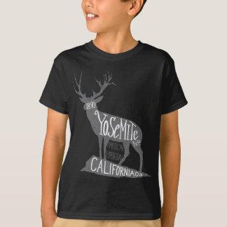 T-shirt Étiquette de Yosemite