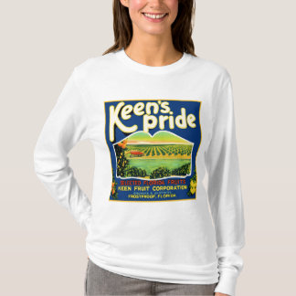 T-shirt Étiquette incongelable de la Floride de fierté