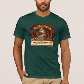 T-shirt Étiquette orange vintage de Yo-Semi-Te