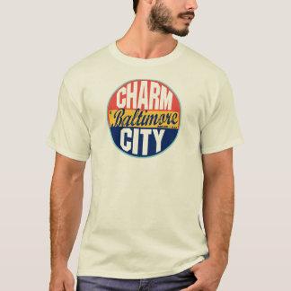 T-shirt Étiquette vintage de Baltimore