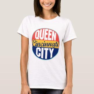T-shirt Étiquette vintage de Cincinnati